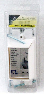 "Up to 1-1//2/"" BE1 1-Gang Box Extender ARLINGTON 2 Pack"