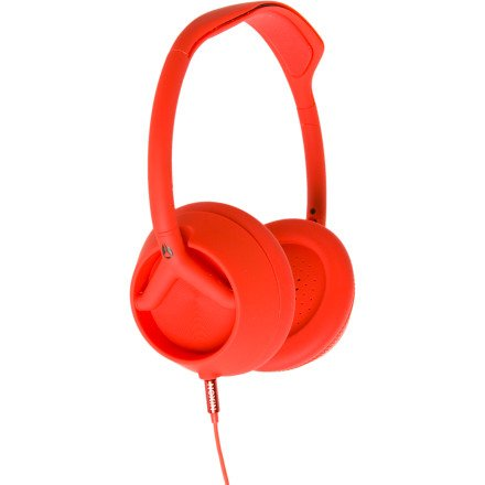 Nixon Trooper 3-Button Headphones Matte Red, One Size