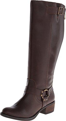Gabriella Rocha Women's York Extra Wide Calf Cocoa Boot 6 M