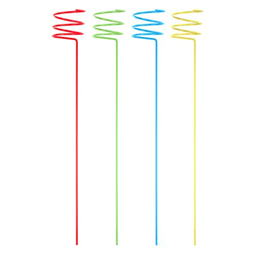 Panacea 87995-4 Beverage Stake, 36-Inch, Assorted Colors, 4-Pack (Lawn Beverage Holder compare prices)