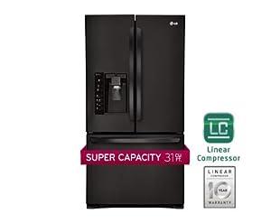 LG LFX31925SB 30.7 Cu. Ft. Black French Door Refrigerator