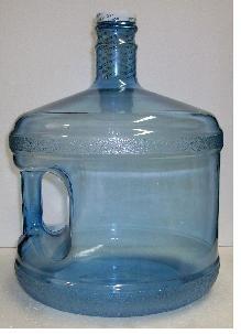 3 Gallon Plastic Bottle - Stubby front-10890