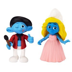 Smurfs Grab Em's Smurfette & Painter Figure (2 Pack)