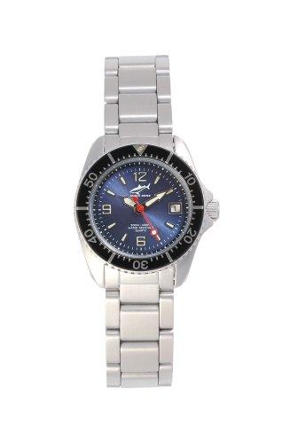 Chris Benz One Lady CBL-B-SW-MB Reloj elegante para mujeres Reloj de Buceo