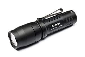 Surefire E1B Dual-Output LED Flashlight, Black