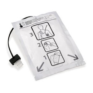 Welch Allyn AED Adult Defibrillation Pads - (1 pouch/2 pads)