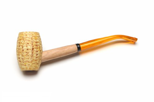 Missouri Meerschaum Mizzou Corncob Tobacco Pipe