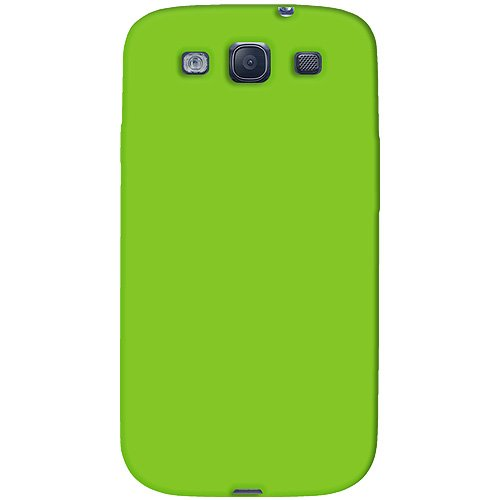 Amzer AMZ93956 Skin Jelly Case for Samsung Galaxy S3 Neo and S III GT-I9300 (Green)