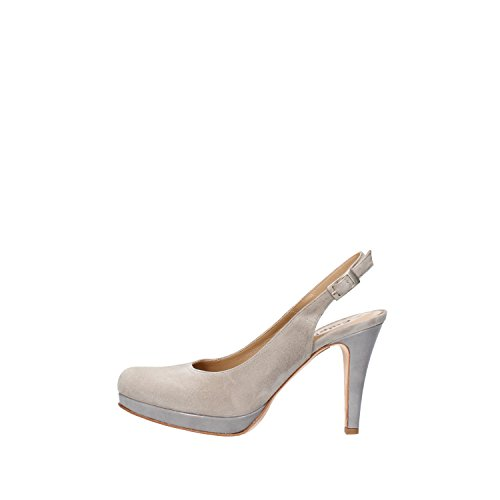 CALPIERRE sandali donna 38 EU grigio camoscio AG721