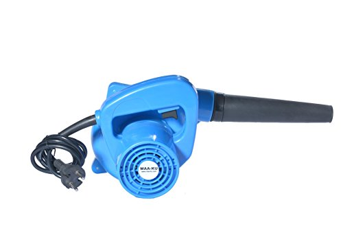 Small Portable Best Multifunctional Lightweight Handheld Electric Vacuum High Speed Rotary Air Blower Fan Machine for Domestic Home and Industrial Cleaning. Color-Blue. MAA-KU