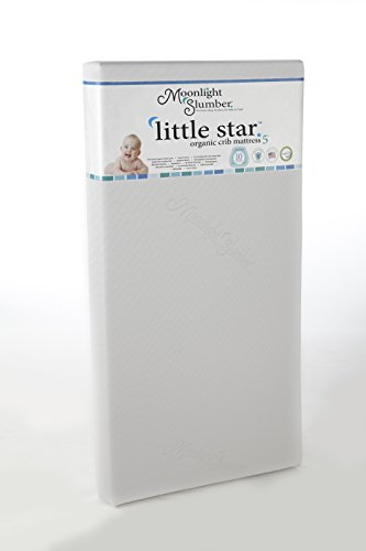 Best Deals! Moonlight Slumber Little Star Crib Mattress, White/Ecru