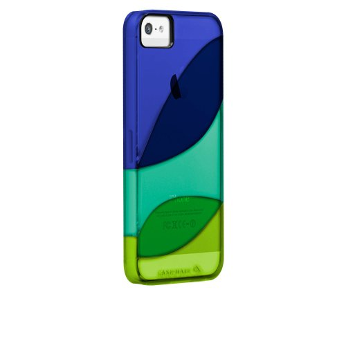 Case-Mate 日本正規品 iPhone5 Colorways Case, Marine Blue / Emerald Green / Chartreuse Green カラーウェイズ ハードケース, マリンブルー/エメラルドグリーン/シャルトリューズグリーン CM022492