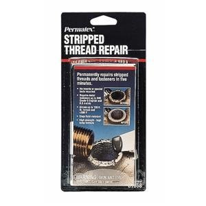 Permatex 81668 6pk Stripped Thread Repair Kit Pack