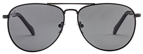 Vincent Chase VC 5884 Matte Black Grey C2 Aviator Polarized Sunglasses (101539)