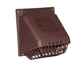 """3"""" Brown Wide Mouth Hood front-457859"""