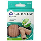 Oppo Gel Toe And Finger Cap, Size : Large, Model No : 6704 - 2 / Pack