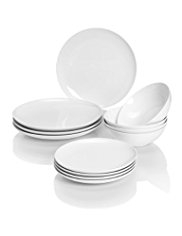 12 Piece Maxim Coupe Dinner Set