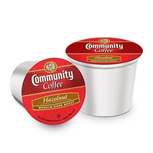 Community Coffee for Keurig(R) K-Cup(R) Brewers - Hazelnut - 12ct Box
