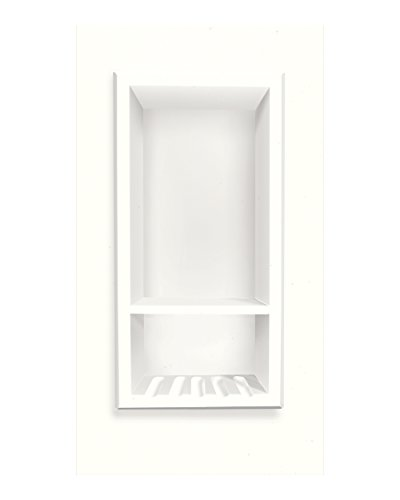 Great Features Of Transolid ACCESS0002-A5 Decor 7-1/2 x 15-Inch Recessed Shampoo Caddy, White