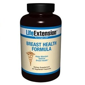Life Extension Breast Health Formula Capsule, 60-Count