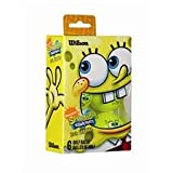 Wilson SpongeBob Squarepants Golf Balls