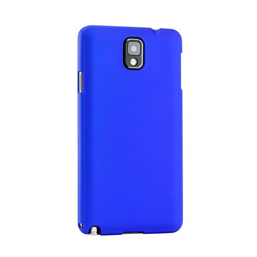 Gearonic  0.8mm Ultra Thin Slim Rubberized PC Hard Case Cover for Samsung Galaxy Note 3 III N9000 - Non-Retail Packaging - Dark Blue