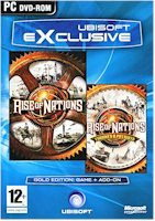 High Quality New Microsoft Rise Of Nations Gold Edition Games Strategy Pc Software Windows 98 Me 2000 Xp