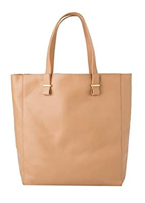 Mango Women's Pebbled Leather Bag