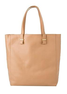 Mango Women's Pebbled Leather Bag