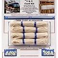 RV RV Shade Repair Kit, Alabaster, 4-Cord from Dirty Blind Man LLC