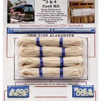 4-Cord RV Shade Repair Kit - Alabaster