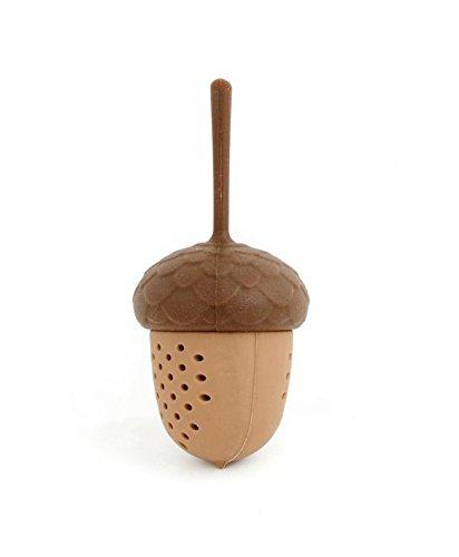 Kikkerland Boule à thé en forme de gland Silicone de qualité alimentaire