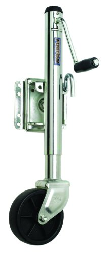 Fulton 1200 Pounds Trailer Tongue Jack, 6-Inch Poly Wheel front-870201