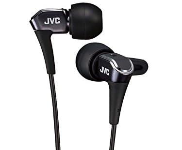 JVC HA-FXH30カナル型イヤホン ダイレクトトップマウント構造採用 ブラック