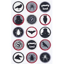 Martha Stewart Sticker Layered Vampire Icons