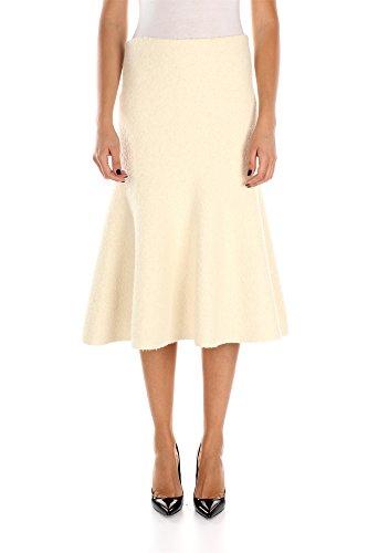 502422I720OWC01-Cline-Jupes-Femme-Viscose-Blanc