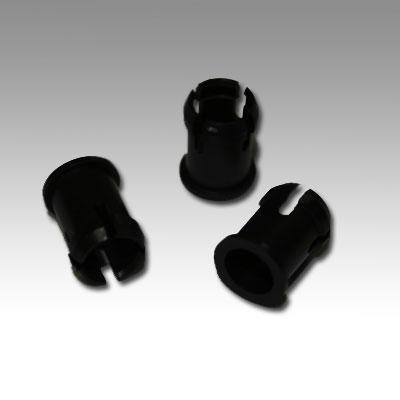 Led Mounting Hardware Led Holder Clip 5Mm Nylon Black (1 Piece)