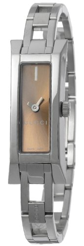 [Gucci] GUCCI watch G-LINK Brown letter Board YA110519 ladies [parallel import goods]