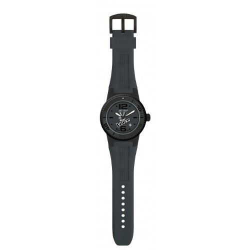 Jet Set J5545b-267v - Reloj unisex, correa de goma color negro