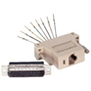 InstallerParts DB25 Male to RJ45 Modular Adapter