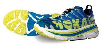 Hoka Hoka One One Stinson Tarmac Trail Running Shoe - Men's Blue/White/Silver, size 12 D(M) US