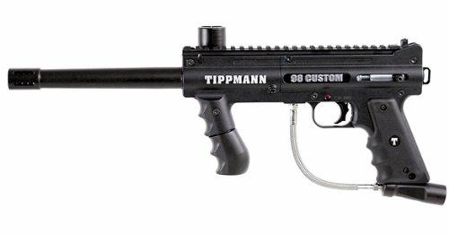 Tippmann 98 Custom Paintball Marker (Black)