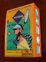 Pro-Sero Pain Relief Plasters, Small Patch X 40