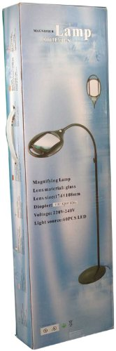 FLOOR LAMP MAGNIFIER