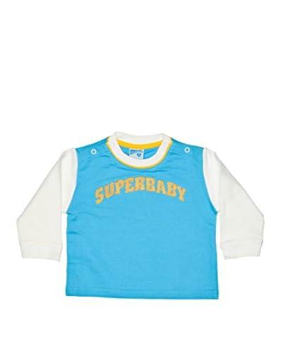 Fantasy Store Felpa Superbaby Baby Boy [Turchese]