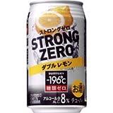サントリー -196℃ ストロングゼロ ダブルレモン 350ml×24缶