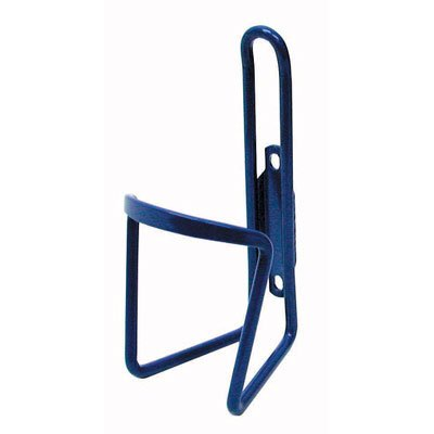 Pyramid Alloy Bicycle Water Bottle Cage, Bulk, Blue