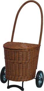 Andersen Korb Shopper Natura Einkaufsroller Trolley Terra m. Stoff 655-4