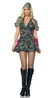 Army Cadet Sexy Costume
