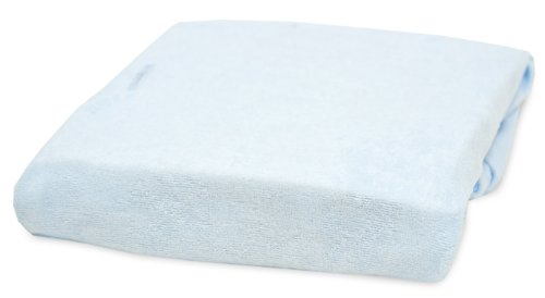 Rumble Tuff Bamboo Viscose Terry Changing Pad Cover, Blue